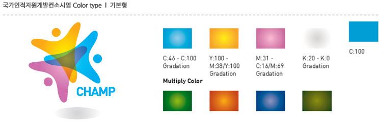 국가인적자원개발컨소시엄 Color type  l  기본형